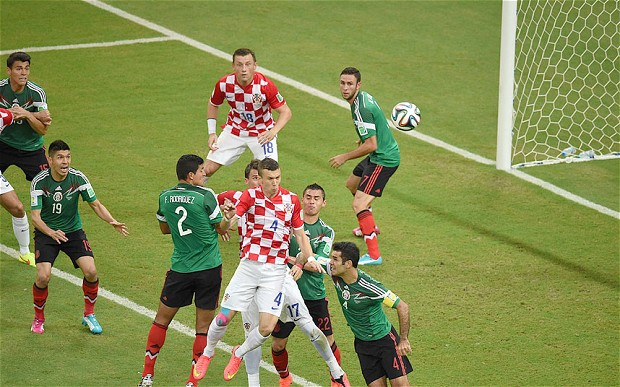 Croatia was undone by Mexico on the way to the Round of 16