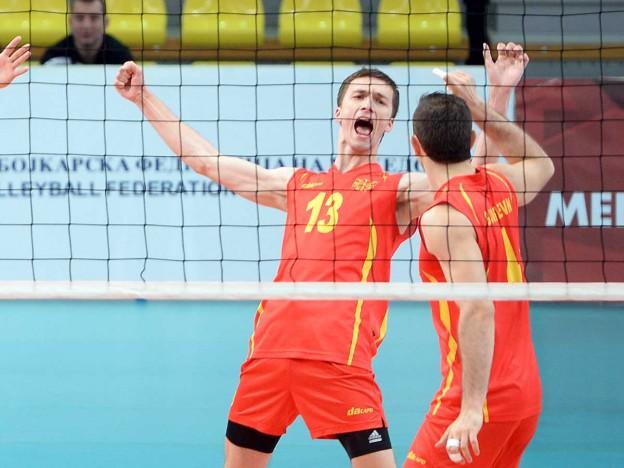 FYROM reaches the semi final of the Volleyball European League