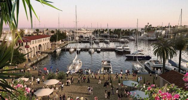 President Anastasiades inaugurates Limassol Marina