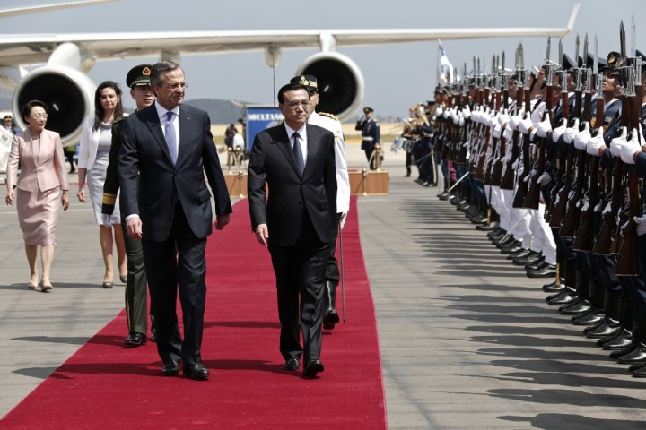 Chinese PM expresses interest in Greek sovereign debt
