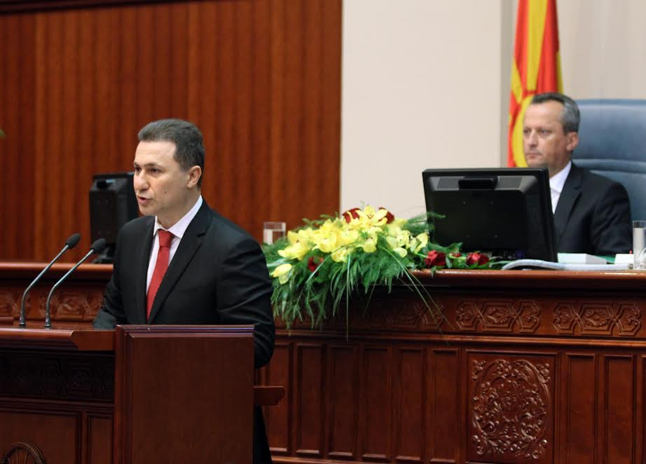 Parliament in FYROM votes the new government