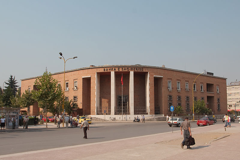 Banks in Albania have a seed capital of 1 billion USD