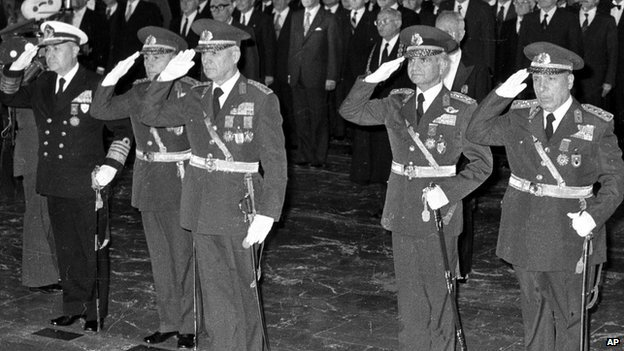 The conviction of the generals responsible for the 1980 coup and the censorship that goes on