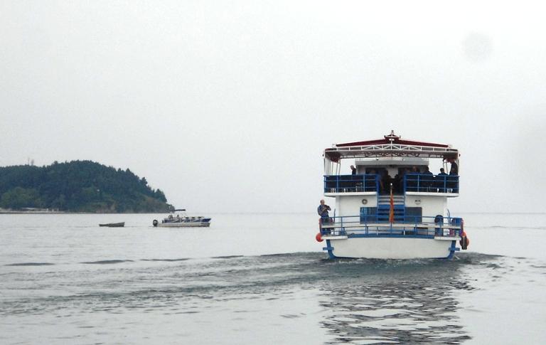 Authorities inaugurate Ohrid-Pogradec ferry line