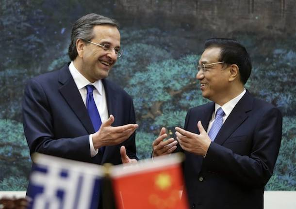 Chinese PM to visit Greece as A. Samaras seeks to reignite privatization program