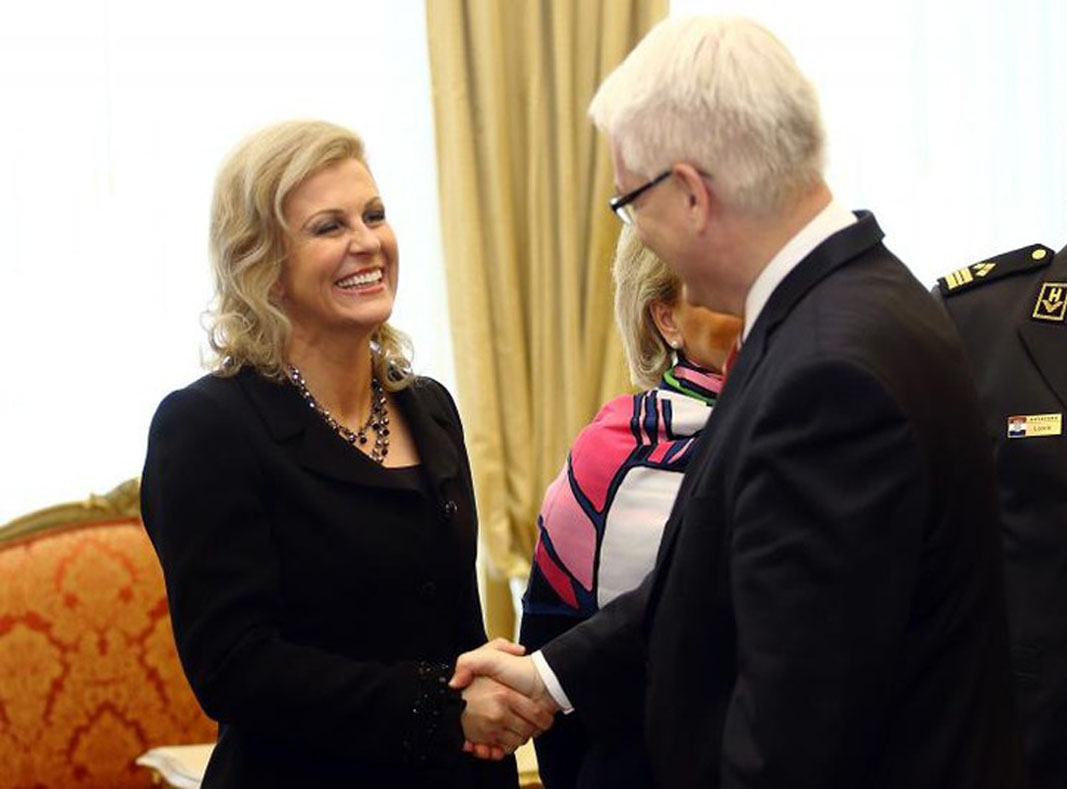 'Photos have a voice' – Josipovic welcomes HDZ's candidate Kolinda Grabar-Kitarovic to the presidential race