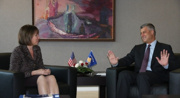 Political crisis, western diplomats meet prime minister Thaci