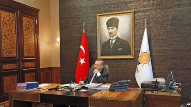 'Bugs' in Erdogan's office lead to arrests