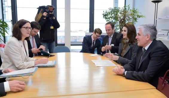 Liberalization of the visa regime, Citaku and Rexhepi meet with EU senior officials