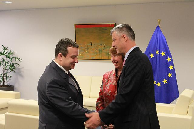 Political crisis veers off the attention from the talks between Kosovo and Serbia