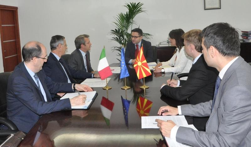 Devoda-Besimi: Italian EU presidency will support Skopje