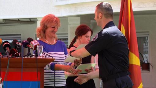 Skopje, Serb ambassador expresses her gratitude for the people of FYROM
