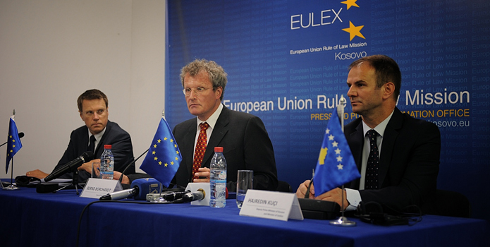 EULEX mandate extends for another two years, no new cases for investigation