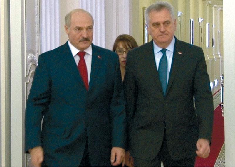"""Lukashenko – """"true friend of Serbia"""""""