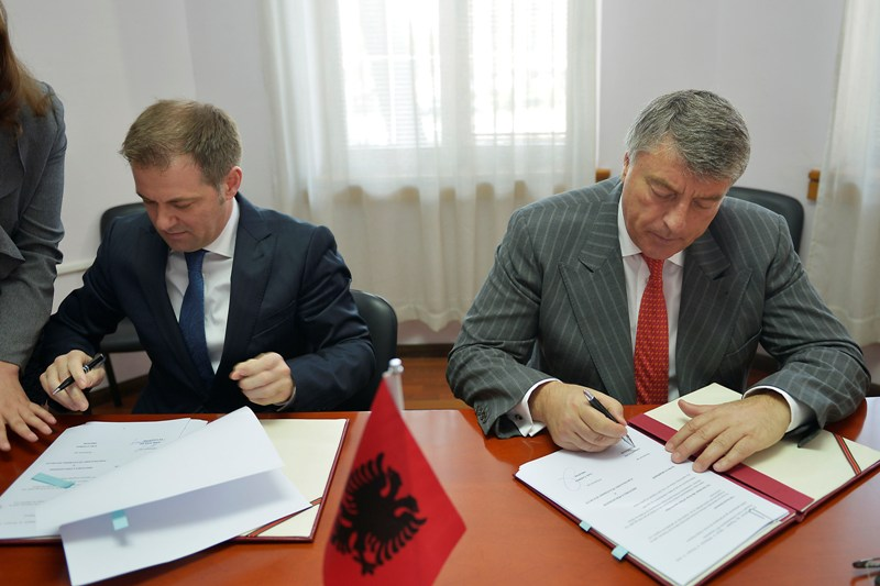 Bank of Albania signs an agreement with FIU