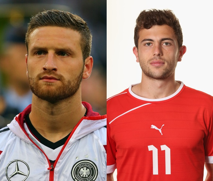 """Two Albanians from FYR Macedonia play for national teams which participate in """"Brazil 2014"""""""