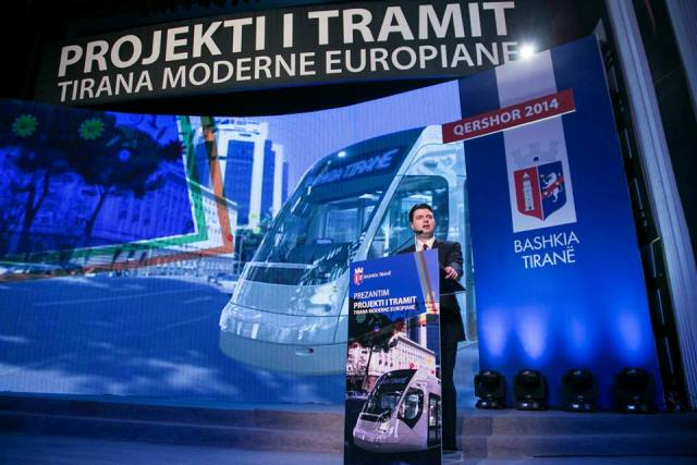 Tirana tram project worth 155 million Euros announced, foreign companies want the concessionary agreement