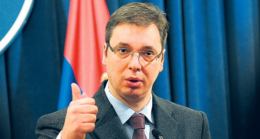 Vucic complains about an international plot against him