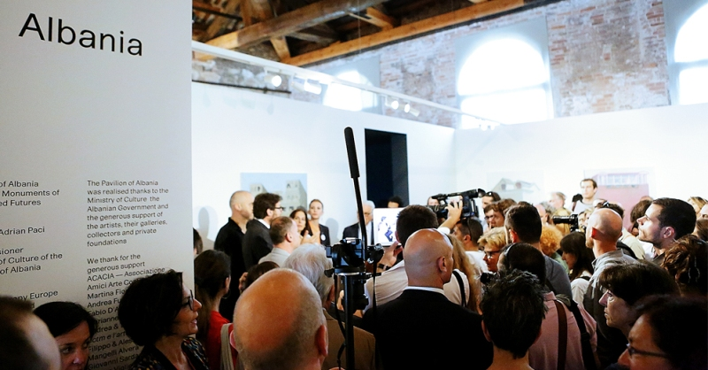 Albania's Pavillion, moments of pride in the Venice Biennale