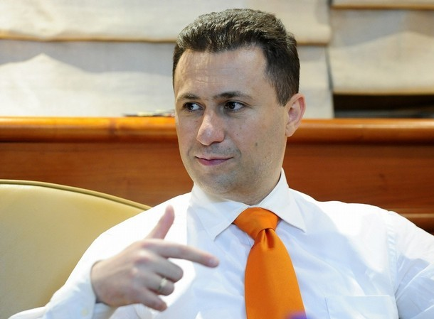 """I don't fear the """"bombs"""" of the opposition leader, says PM Gruevski"""