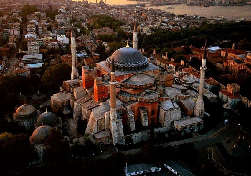 Erdogan postponed the scenarios for the conversion of Hagia Sophia to a mosque