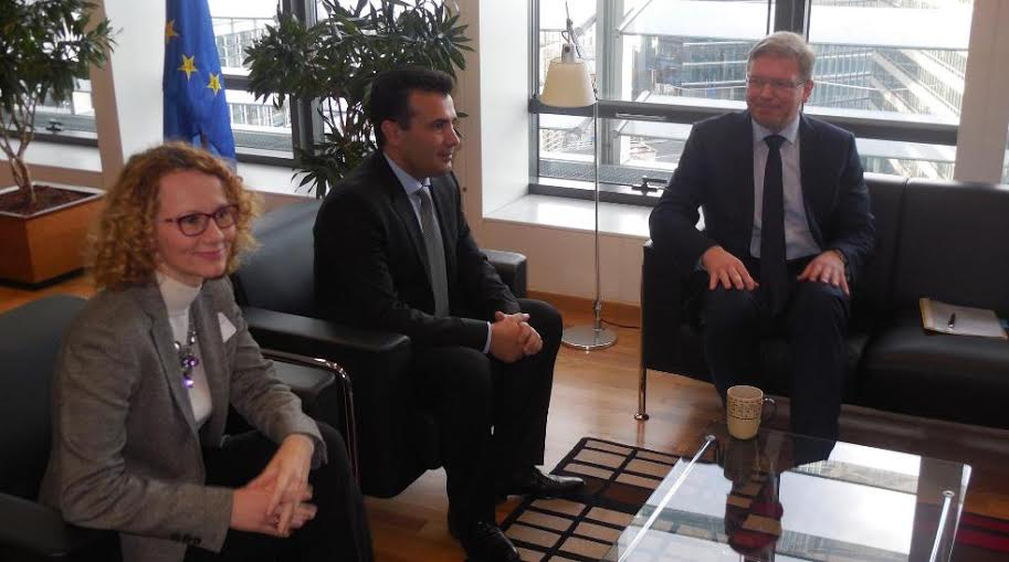 Opposition expresses its concern in Brussels for the political crisis in FYR Macedonia