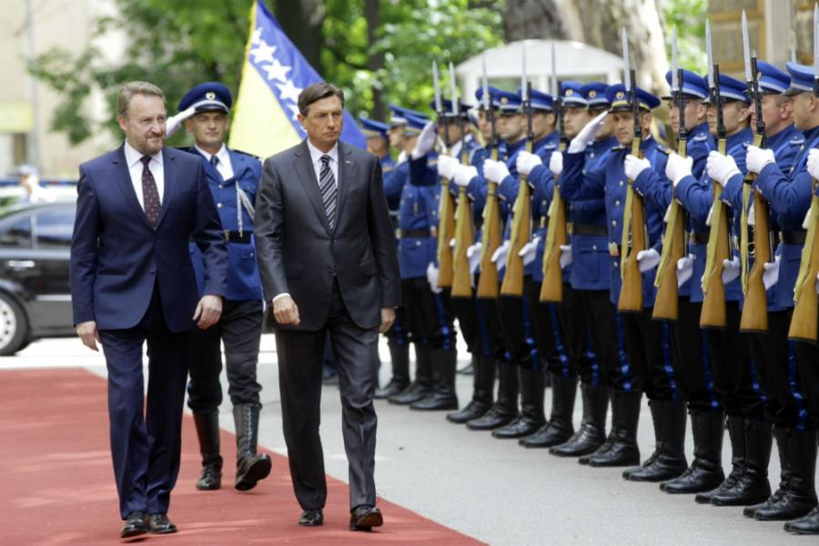 Slovenia supports B&H towards EU – Official Visit of Slovenian President to B&H