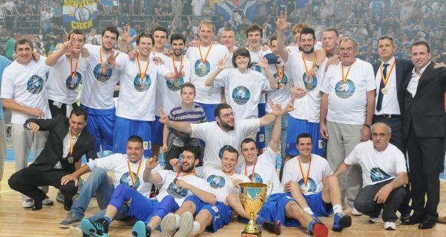 MZT Skopje is announced basketball champion