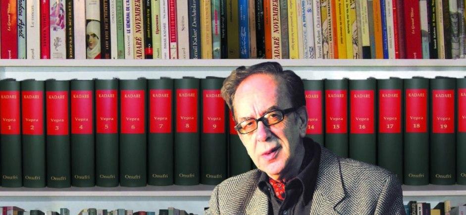 Kadare on the short list of the 2014 European Award on Literature