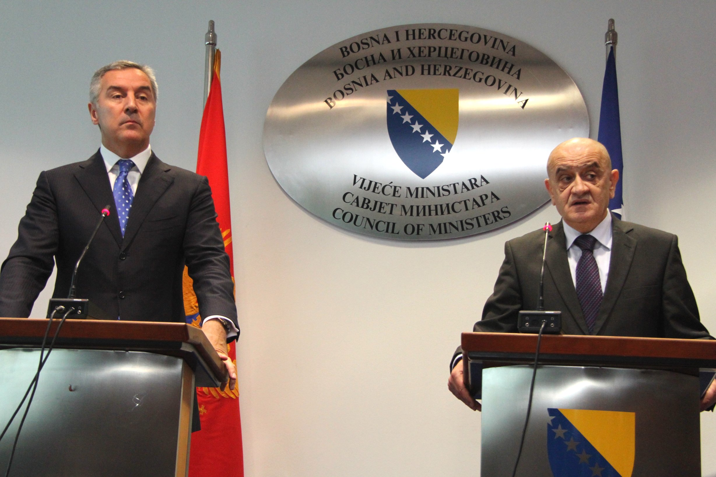 B&H and Montenegro agreement on interstate boarder signed