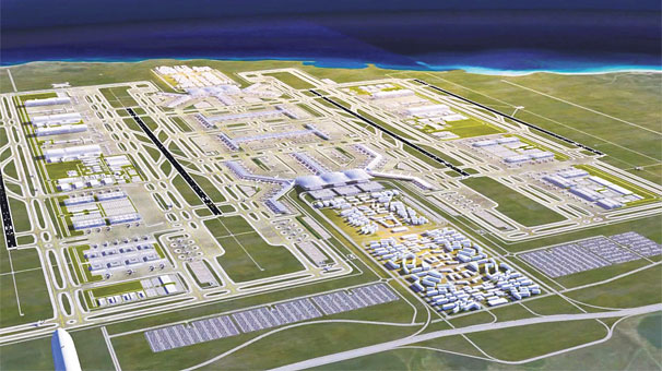 Works start on construction of new airport in Istanbul