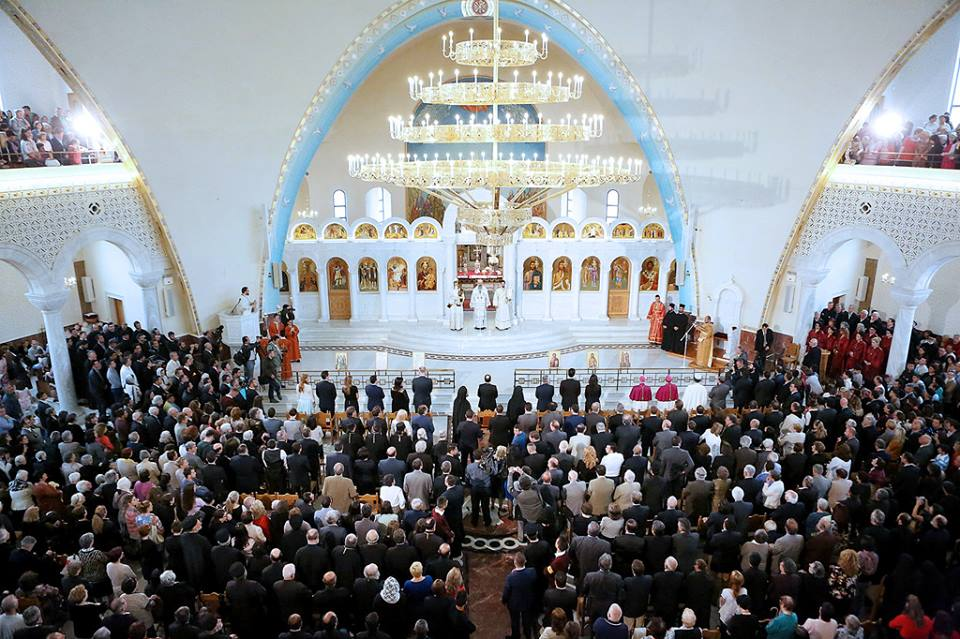 Tirana cathedral gathers in Albania the heads of the world Orthodoxy