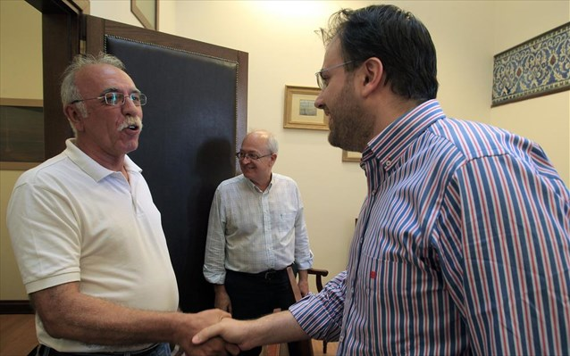 Positive meeting SYRIZA-DIMAR