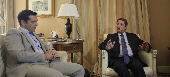 Cyprus and EEZ the issues discussed by Anastasiades in Greece