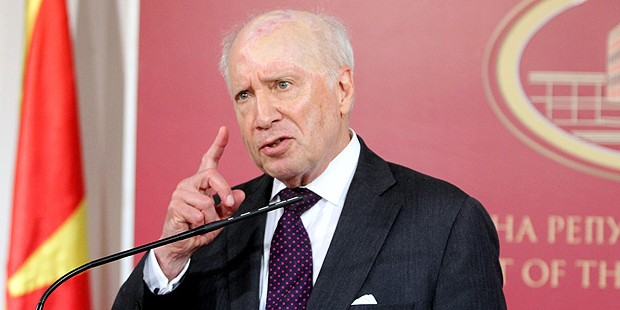 The name dispute is an issue that affects many countries, says Nimetz