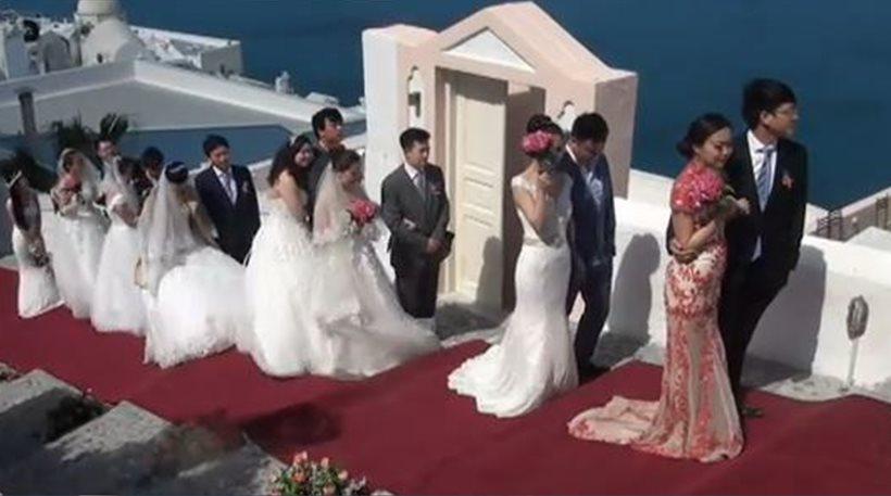 Greece has become an international wedding destination