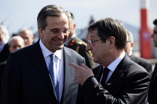 Anastasiades-Samaras meeting focuses on the Cyprus matter