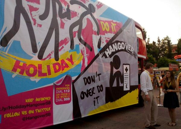 British embassy in Bulgaria launches Holiday Hangover campaign