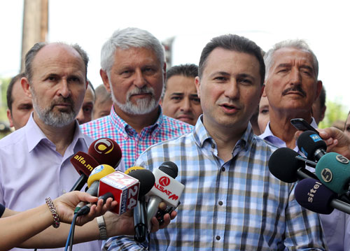 Premier Gruevski launches accusations against the opposition for lack of dialogue