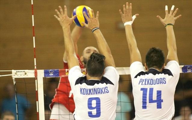 Volleyball European League: Greece – Montenegro 2-3