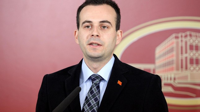 Naumovski appointed negotiator for the name dispute