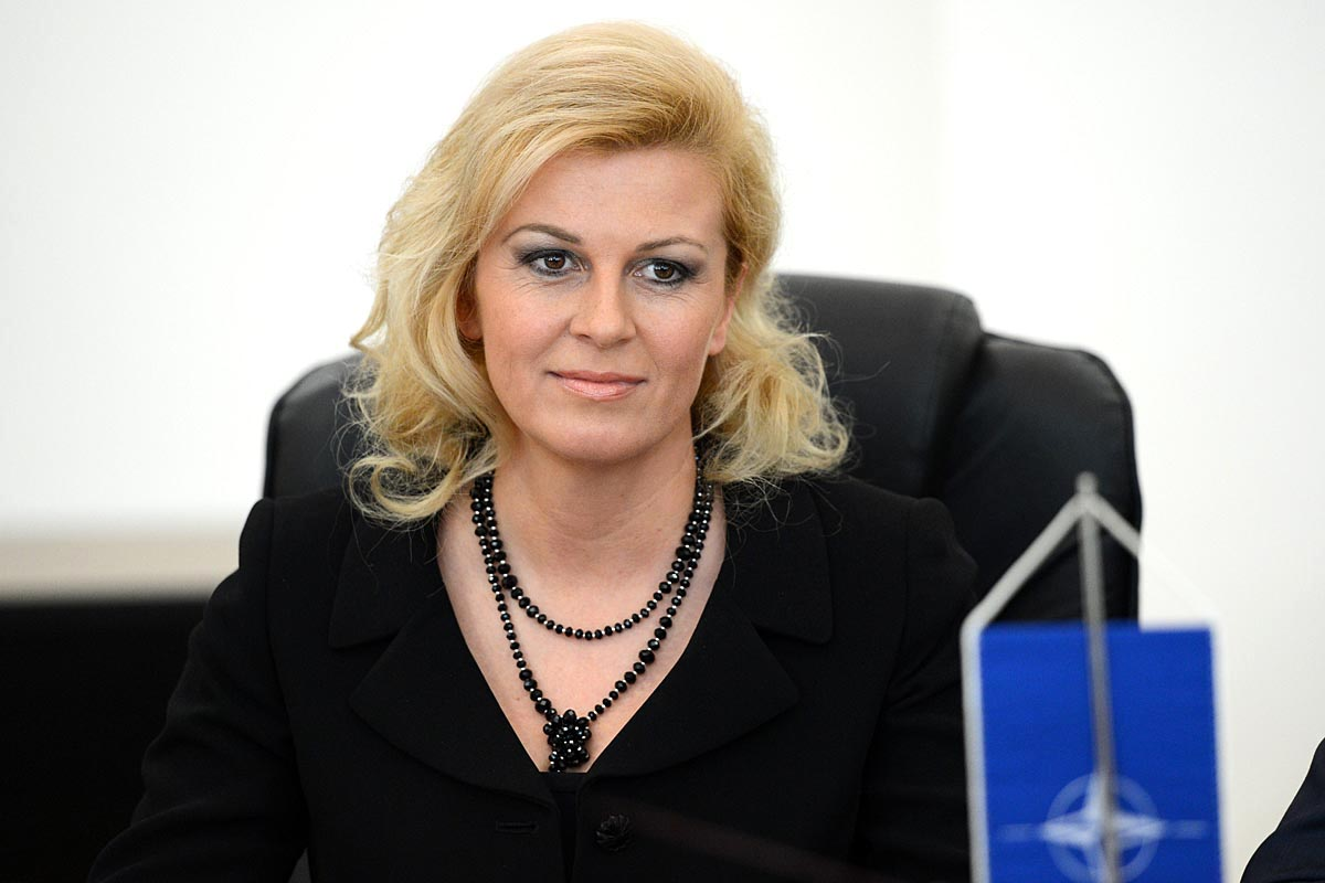 'Photo without a sound' is Grabar Kitarovic's choice, not NATO's official position