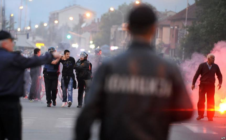128 cases of cross ethnic violence in FYR Macedonia during 2014