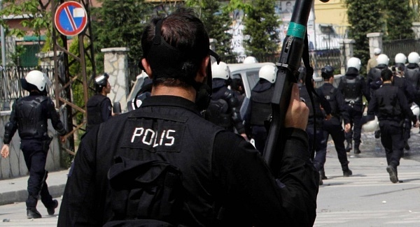 Cleansing operations inside the Turkish Police