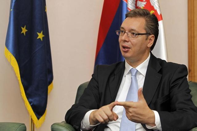 Private job should become a dream, Vucic says