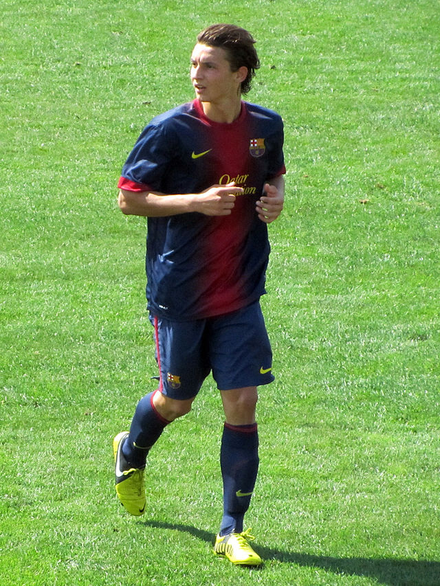 Babunski, the talent from Skopje making a debut with Barcelona