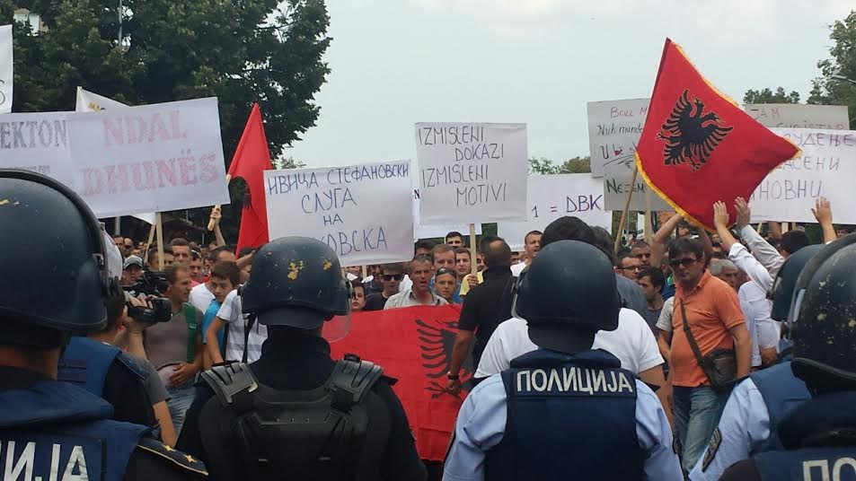 Albanians cancel their protest in Skopje