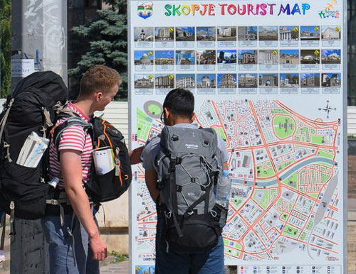 Number of foreign tourists in FYR Macedonia goes up