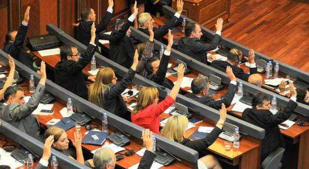 Isa Mustafa is elected speaker of the parliament of Kosovo
