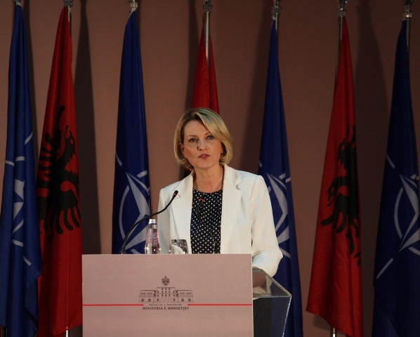 Albanian Minister of Defense: NATO standards drive the reform in the Armed Forces